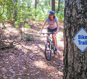 Bicycling In The Upcountry